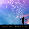 11 Points of Law Of Attraction