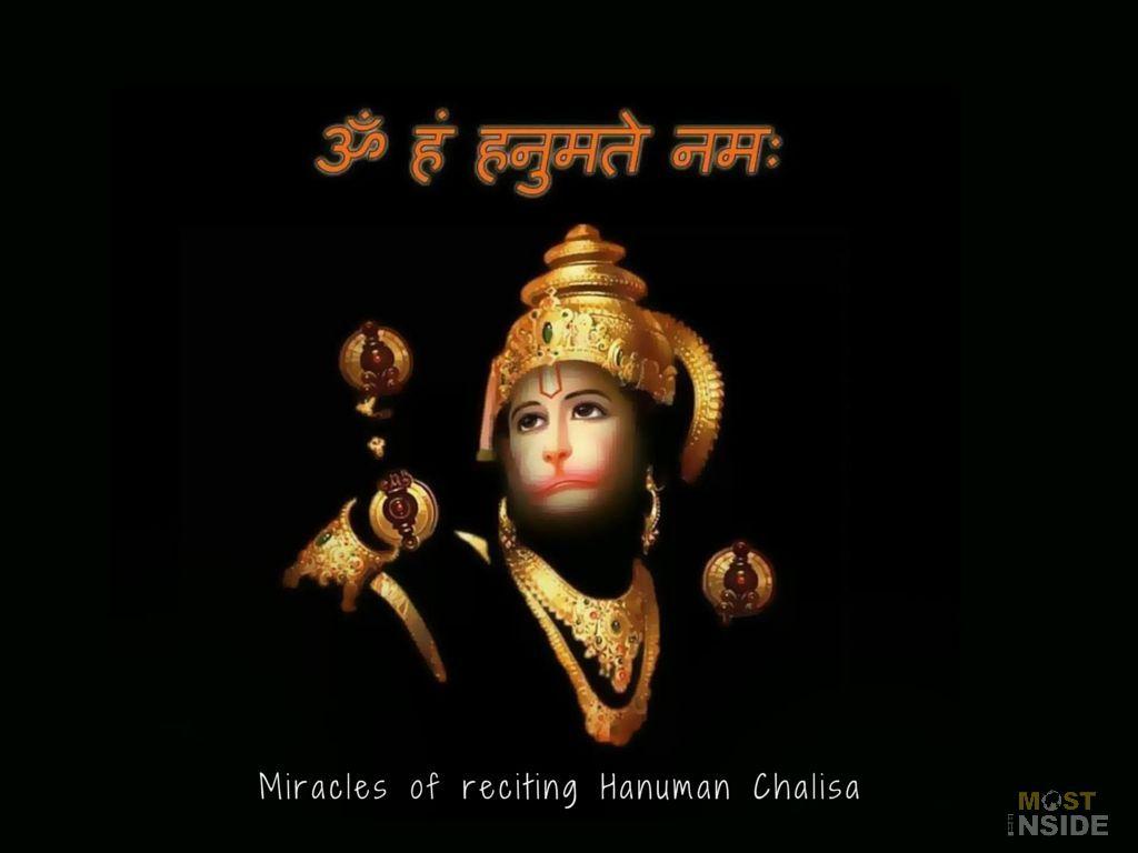 Miracles of Reading Hanuman Chalisa