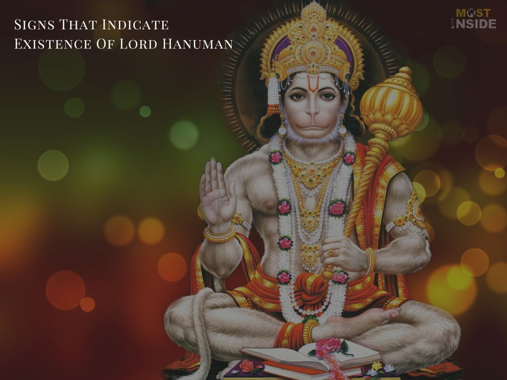 Existence Of Lord Hanuman
