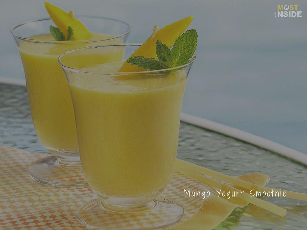 Mango Shakes Smoothies