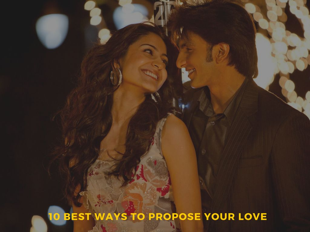 best ways to propose your love