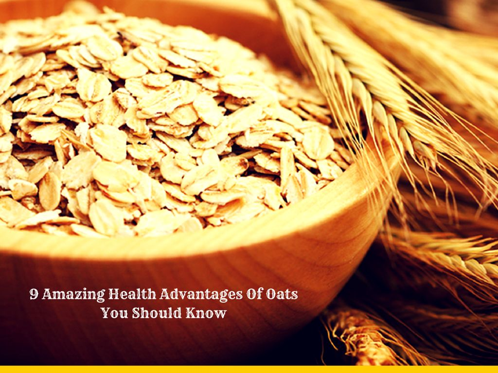 Advantages of oats