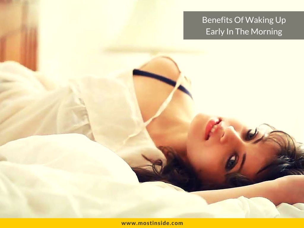 what are the benefits of waking up early