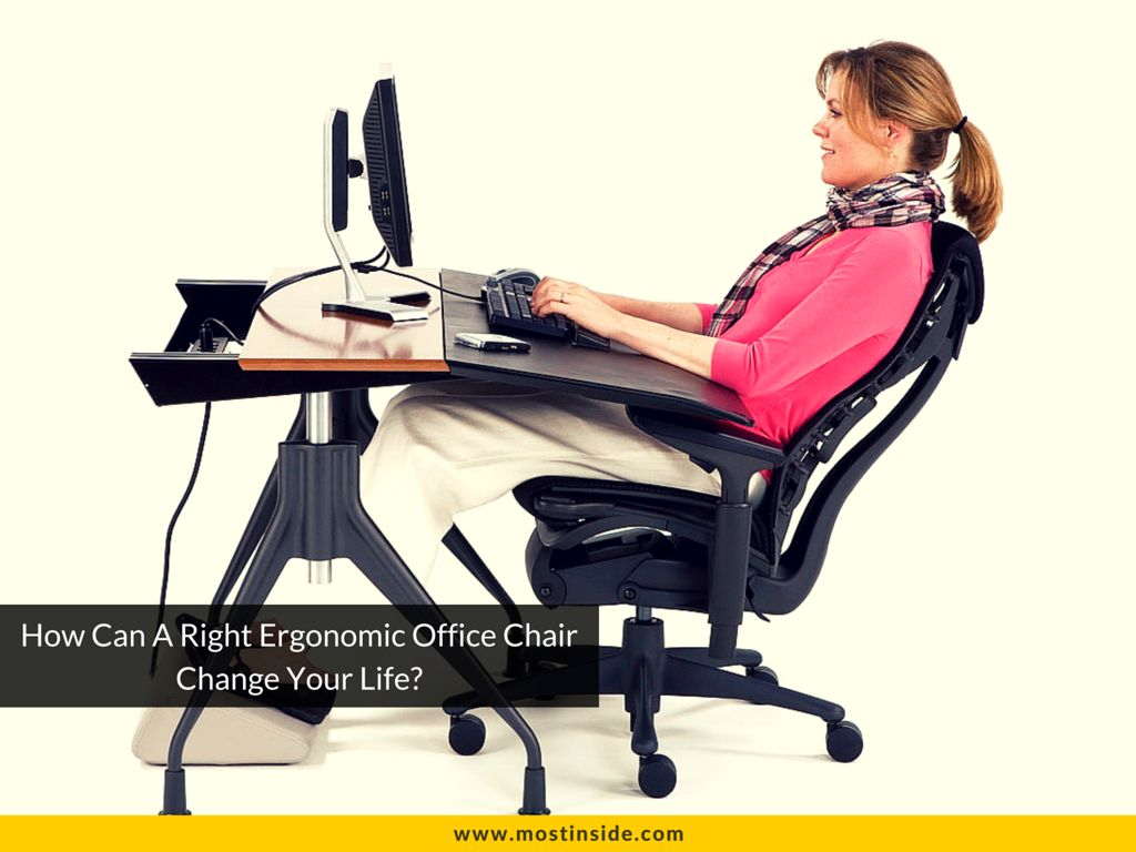 How Can A Right Ergonomic Office Chair Change Your Life