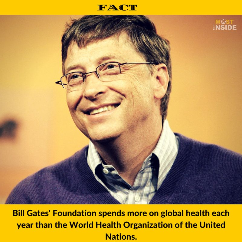 Bill Gates Facts