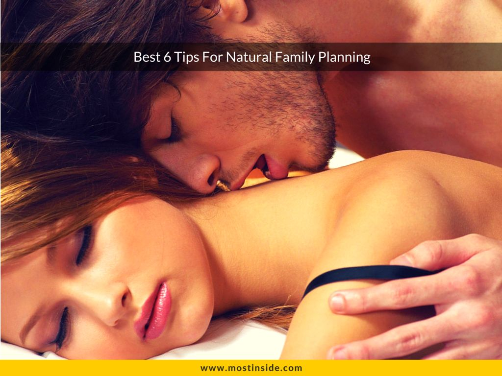 Best 6 Tips For Natural Family Planning