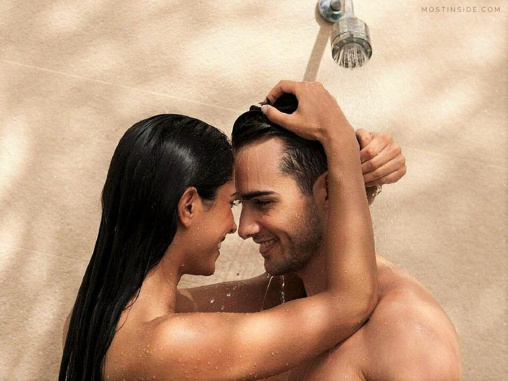 Taking A Shower With A Girl