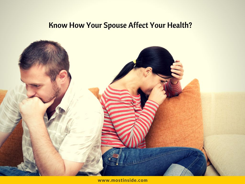How Your Spouse Affect Your Health