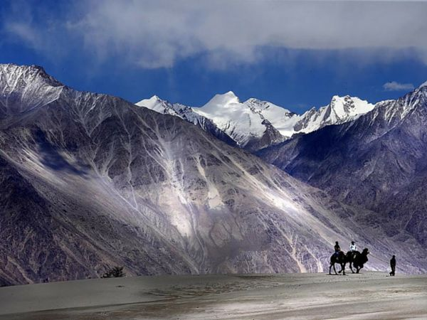 Nubra Valley Beautiful Place in India