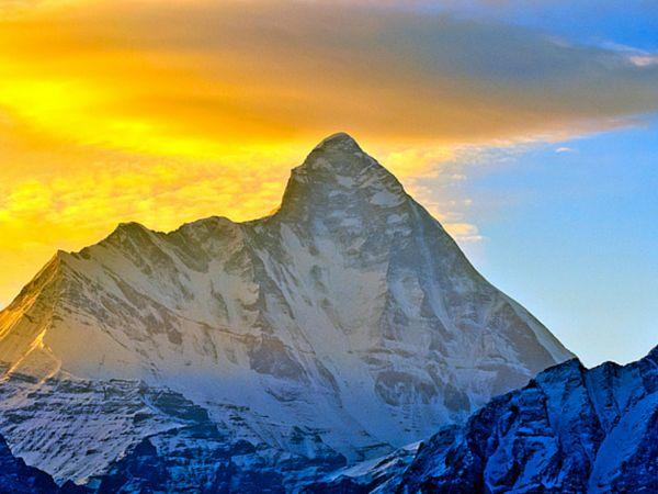 Nanda Devi Beautiful Place in India
