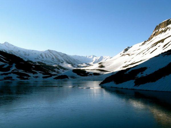 Suraj Tal Lake Beautiful Place in India