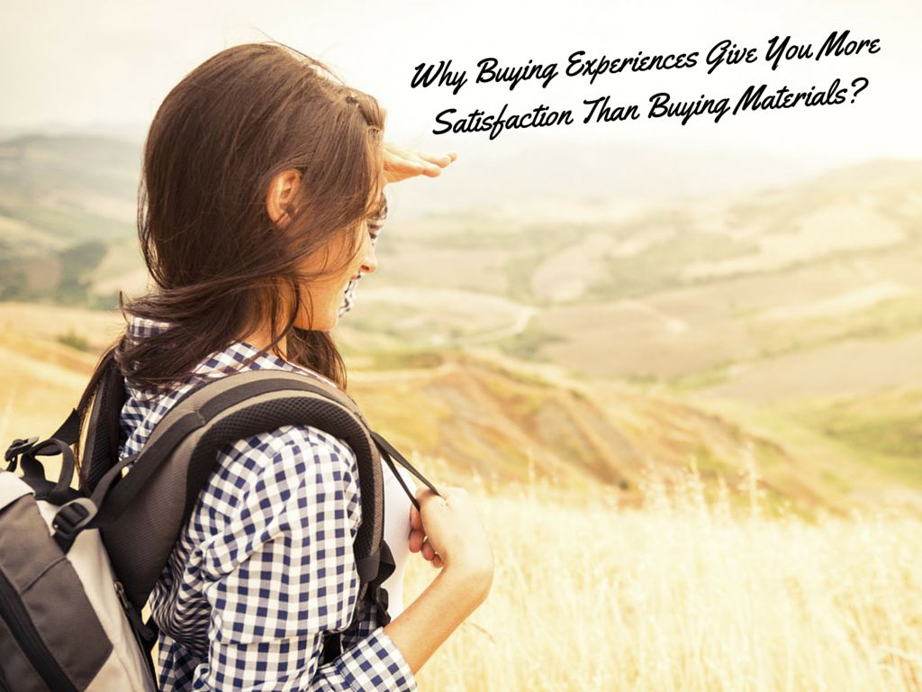 experiences give you more happiness