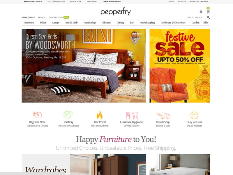 Best Online Furniture Websites In India
