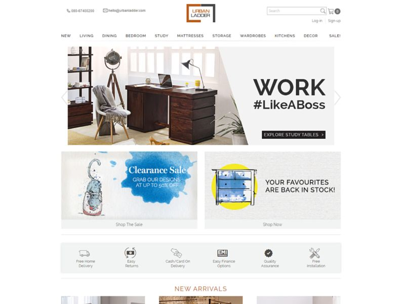 Best Online Furniture Websites In India