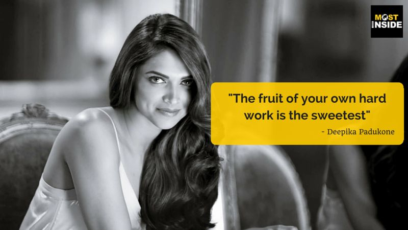 Deepika Padukone's Thoughts and Quotes