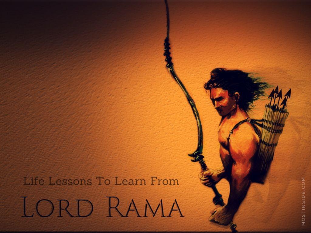 Learn From Lord Rama