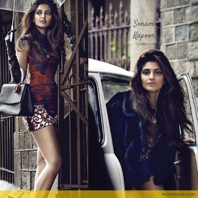 Sonam Kapoor's Hot Intense Vogue Agent Provocateur Photoshoot