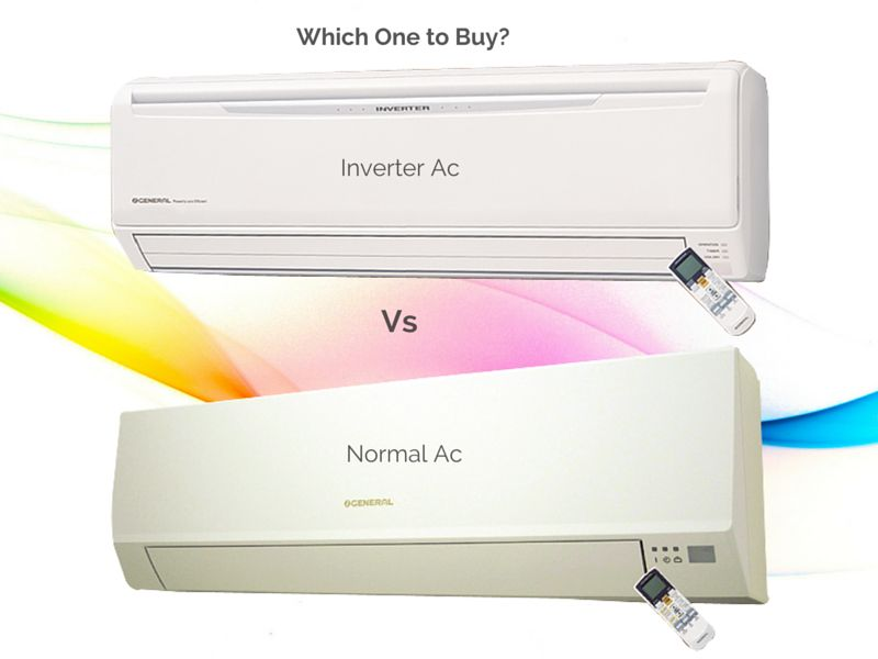 inverter ac vs normal ac which one to buy. Black Bedroom Furniture Sets. Home Design Ideas