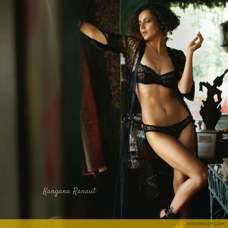 Kangana Ranaut Intense Bold Bikini Hot Photoshoot