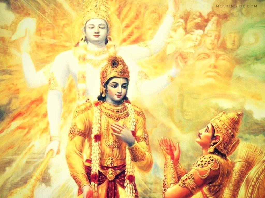 bhagvad gita And he who at the time of death meditating on me alone, goes forth, and leaving find this pin and more on bhagvad gita by yaksha bhagavad gita , } material nature, a product of divine kinetic energy (maya), is the origin of the entire universe.