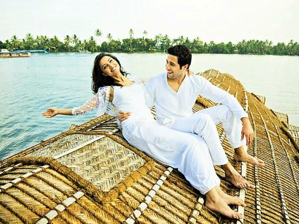 Honeymoon at Kerala