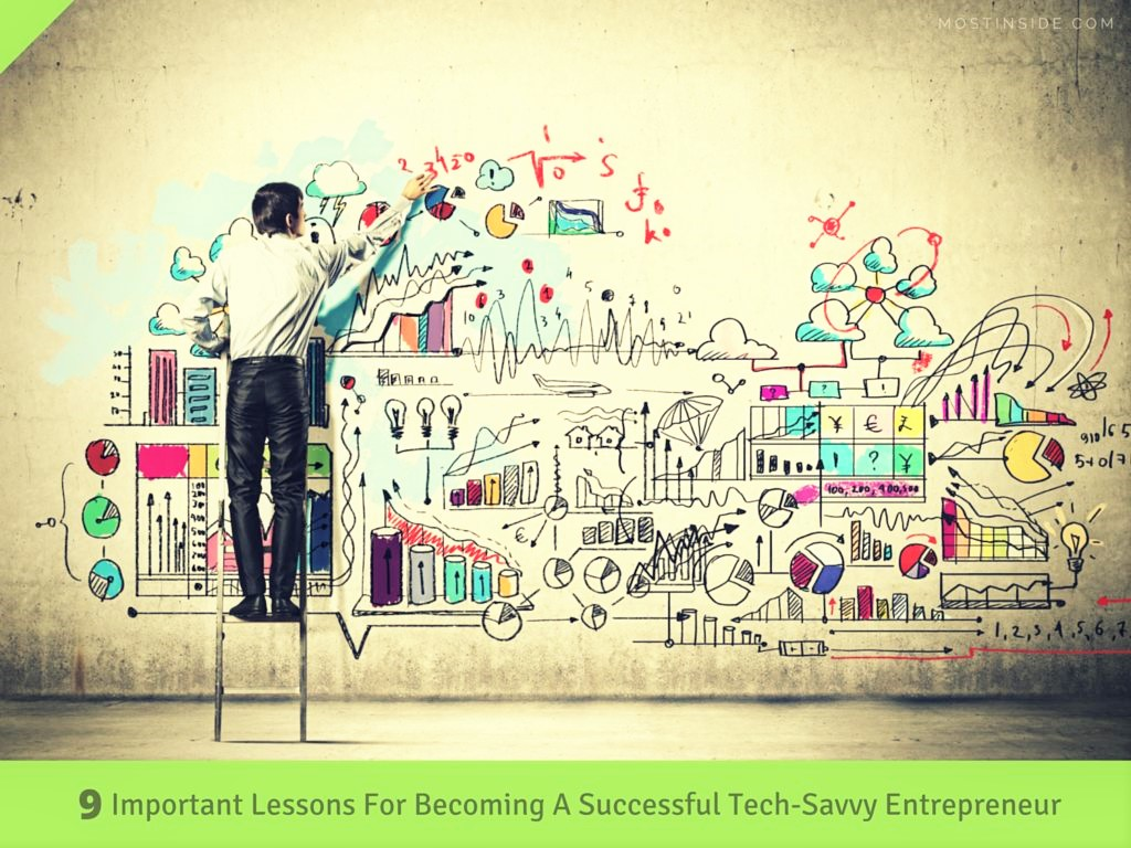 Tech Savvy Entrepreneur