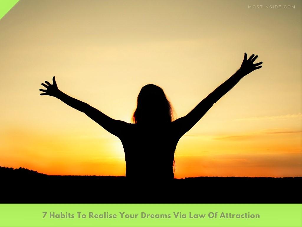 Dreams Via Law Of Attraction