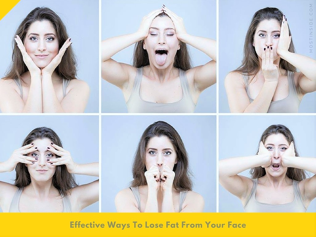 Lose Fat From Your Face