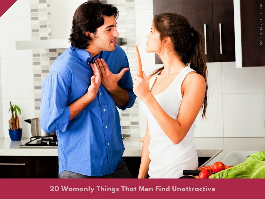 Men Find Unattractive