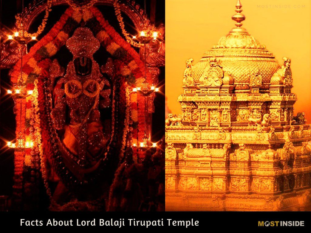 Facts About Lord Venkateswara Swamy Tirupati Temple