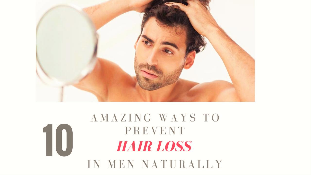 Prevent Hair Loss In Men Naturally
