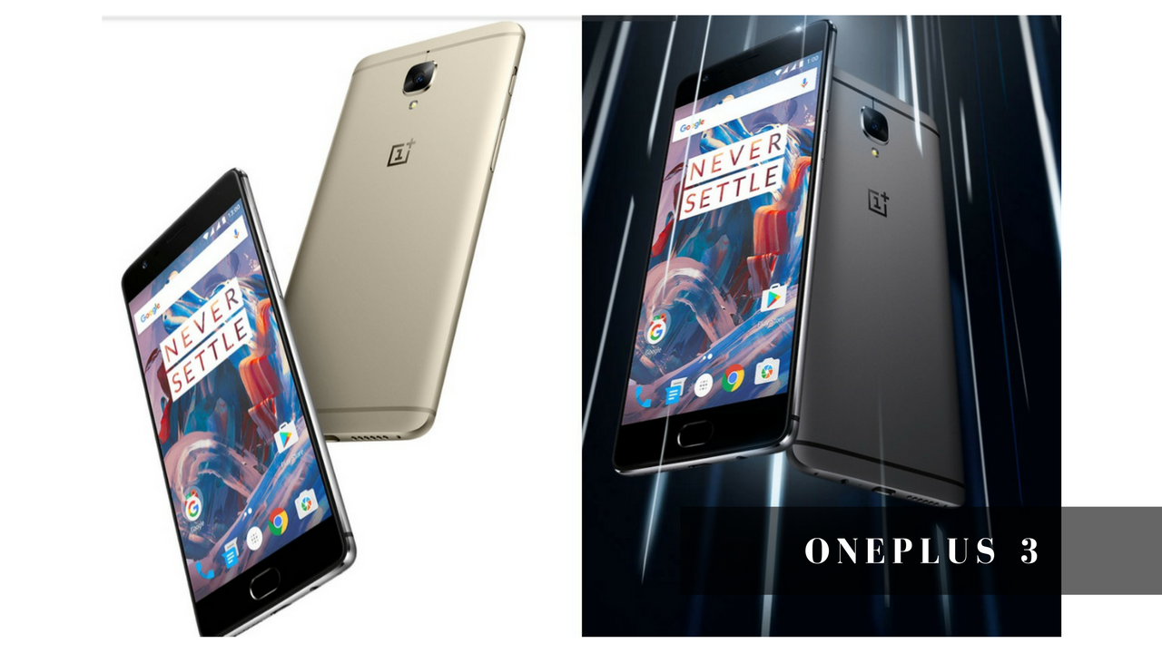 OnePlus 3 Best Camera Mobile 2016