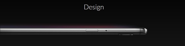 OnePlus 3 Smartphone Design