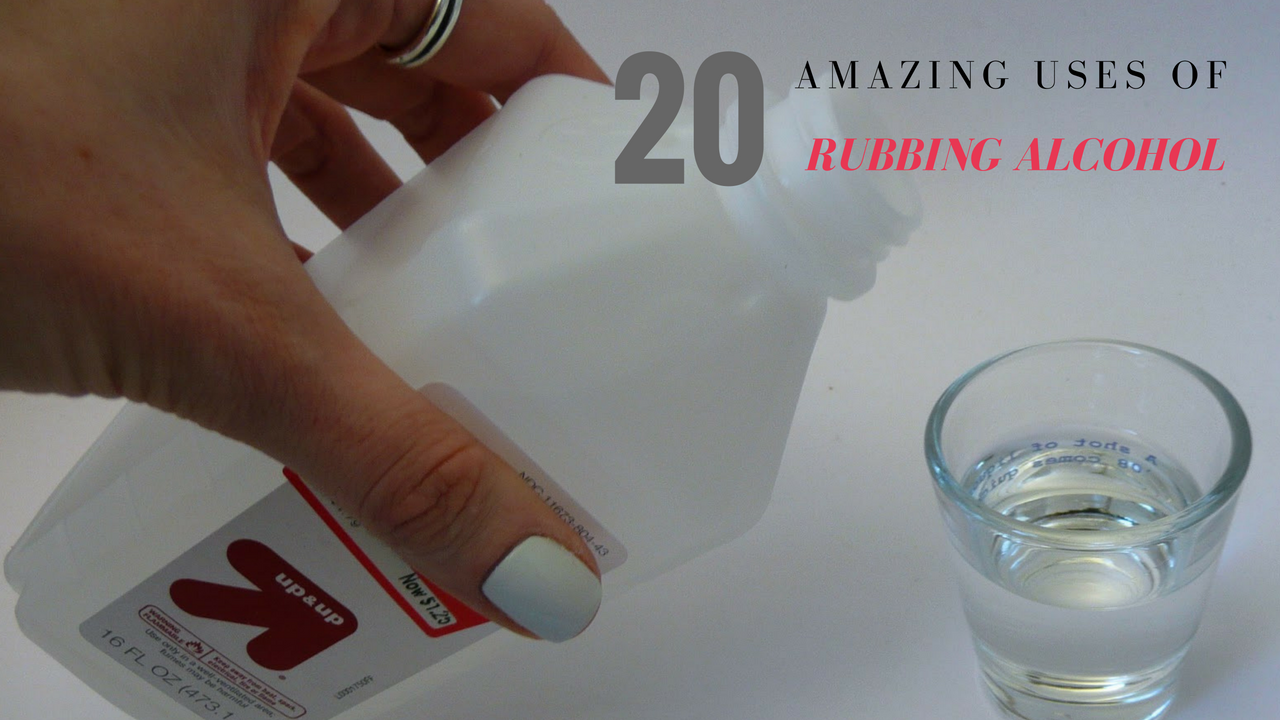 20 Amazing Uses Of Rubbing Alcohol