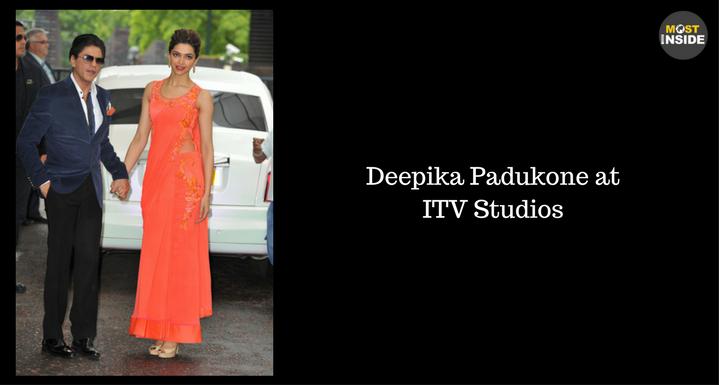 Deepika Padukone at ITV Studios