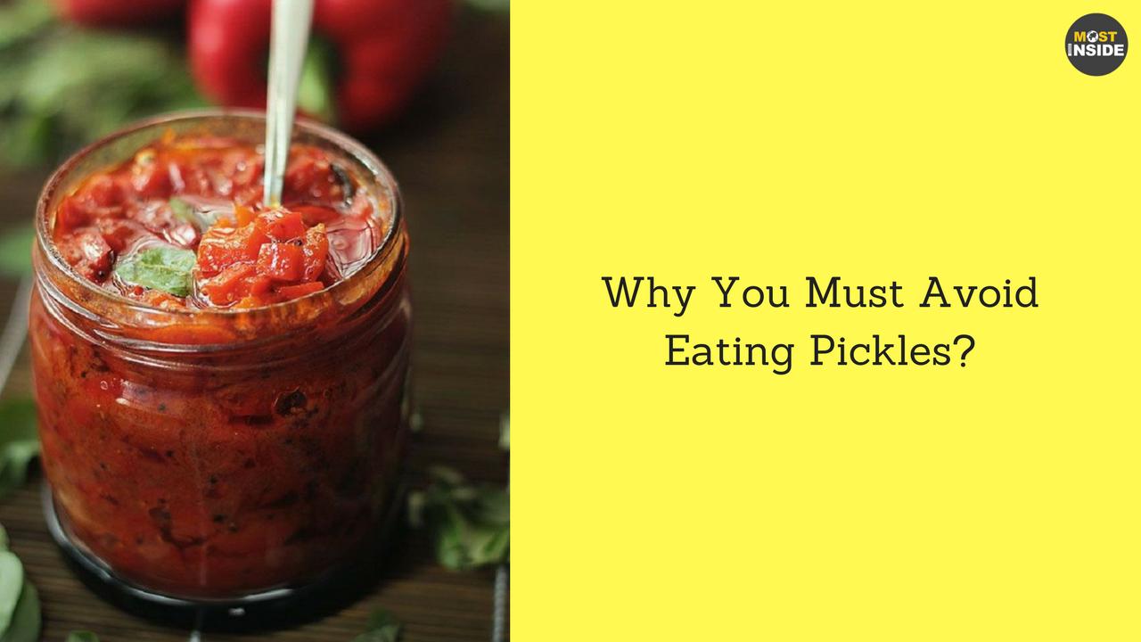 Avoid Pickles