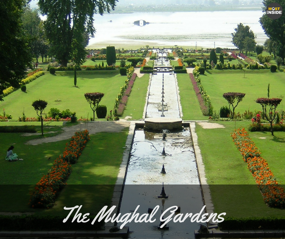 Mughal Gardens Honeymoon