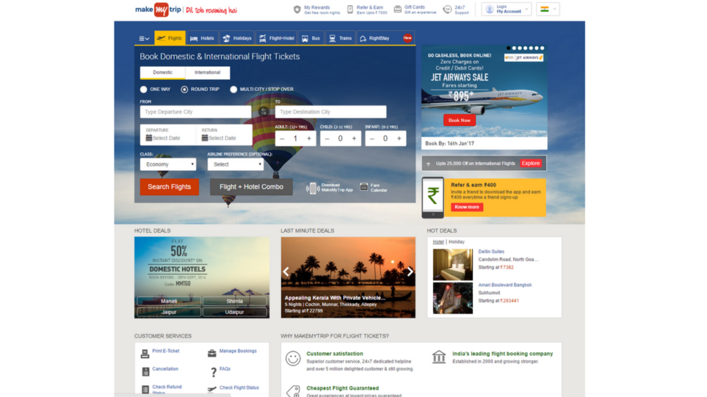 Flight Booking in India
