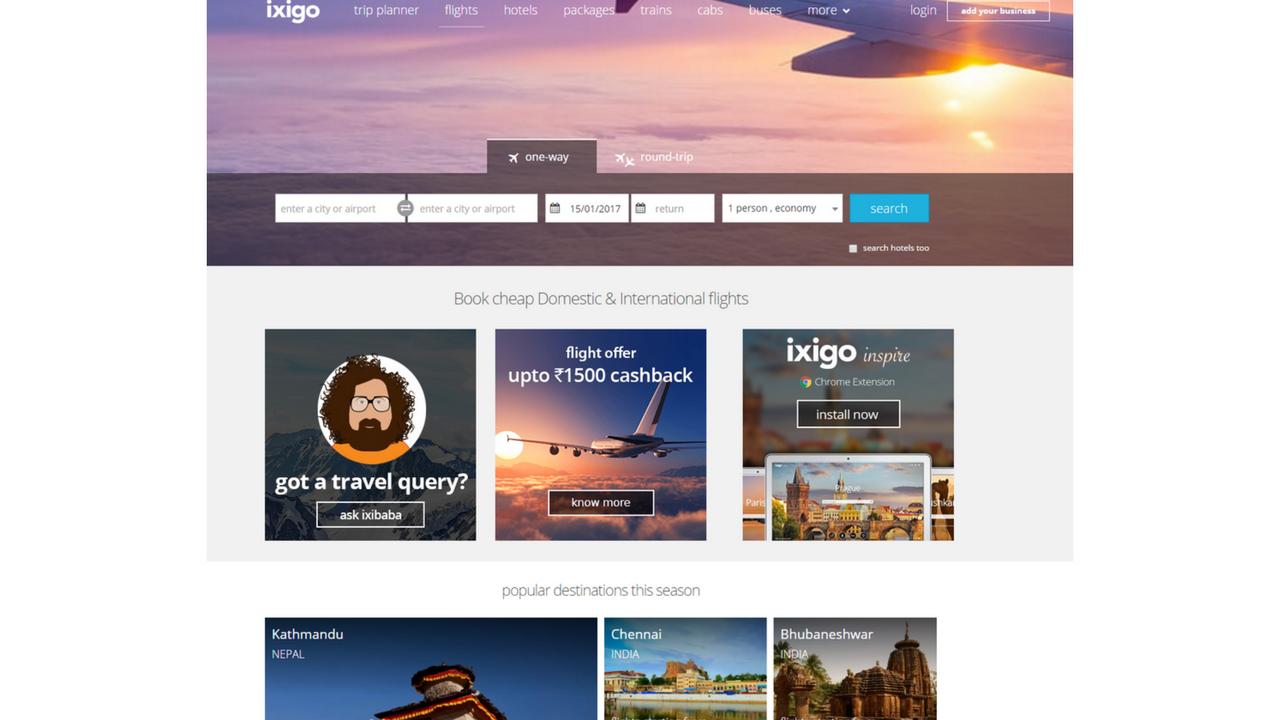 top websites for flight booking in flight booking in