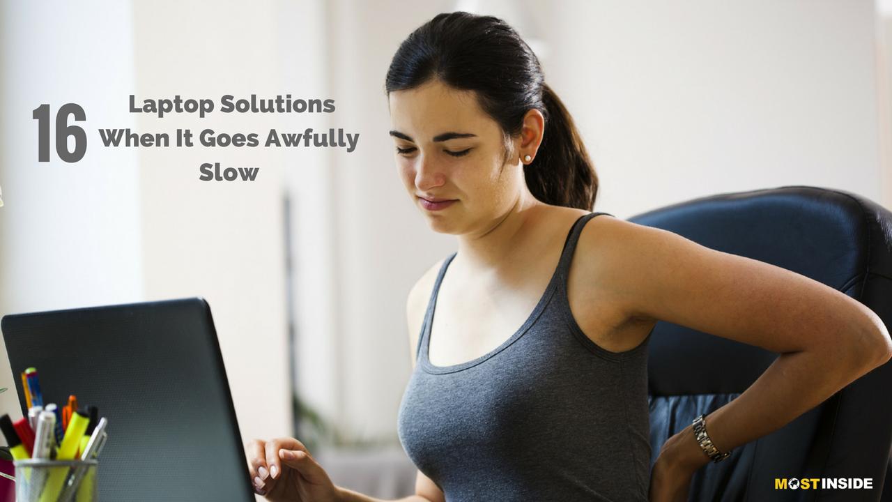 Laptop Slow Solutions