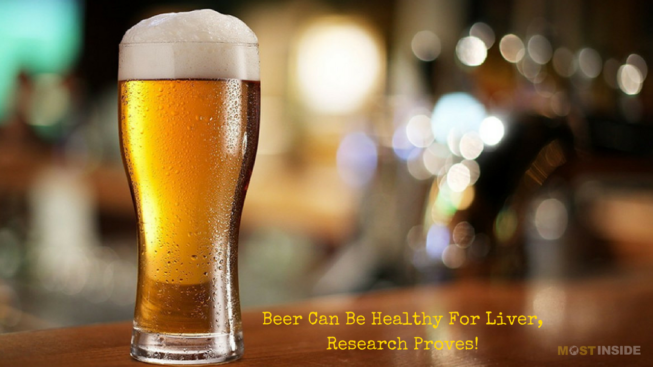 Beer Healthy For Liver