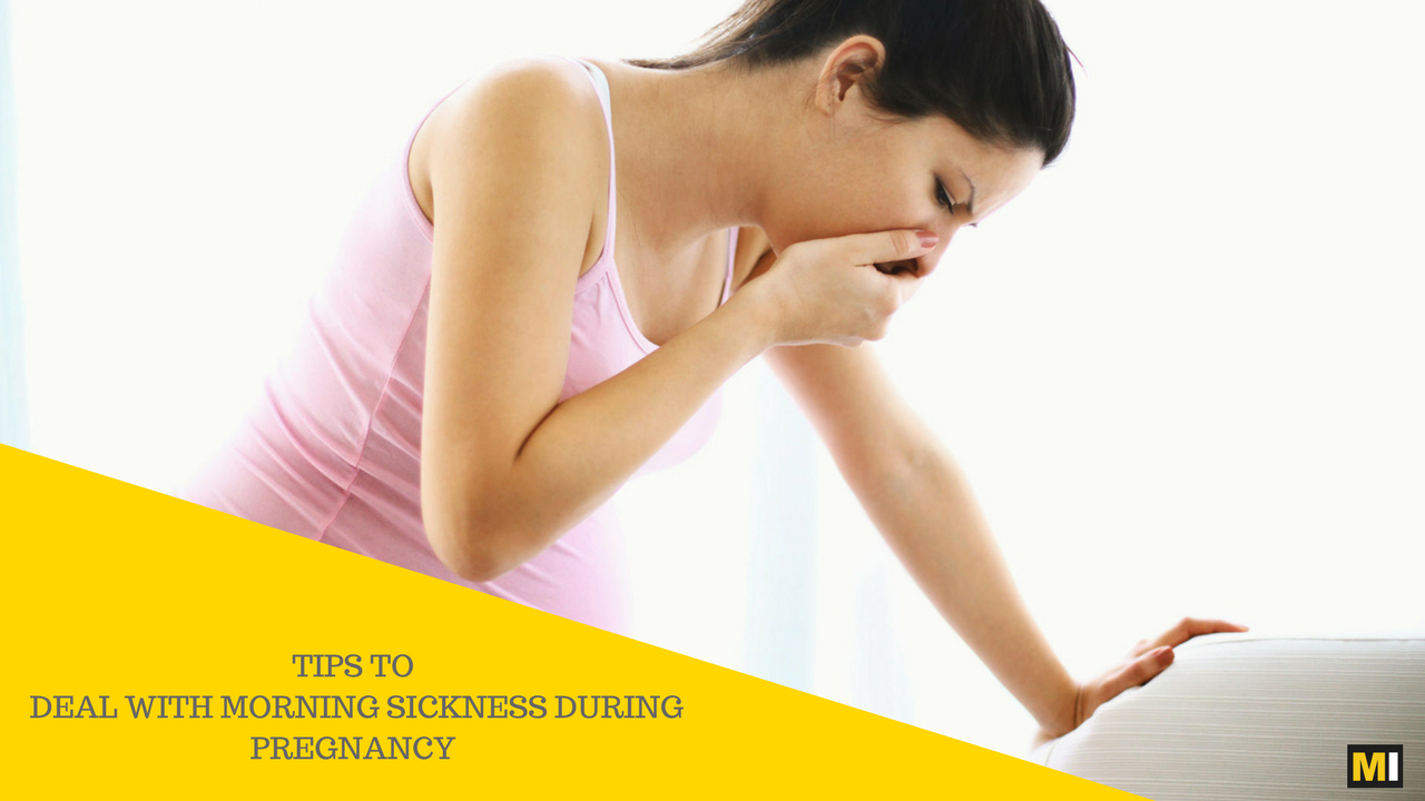 Deal With Morning Sickness During Pregnancy