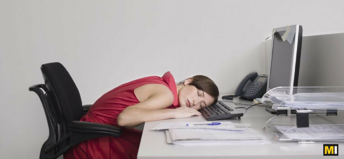 How To Stop Feeling Sleepy In Office