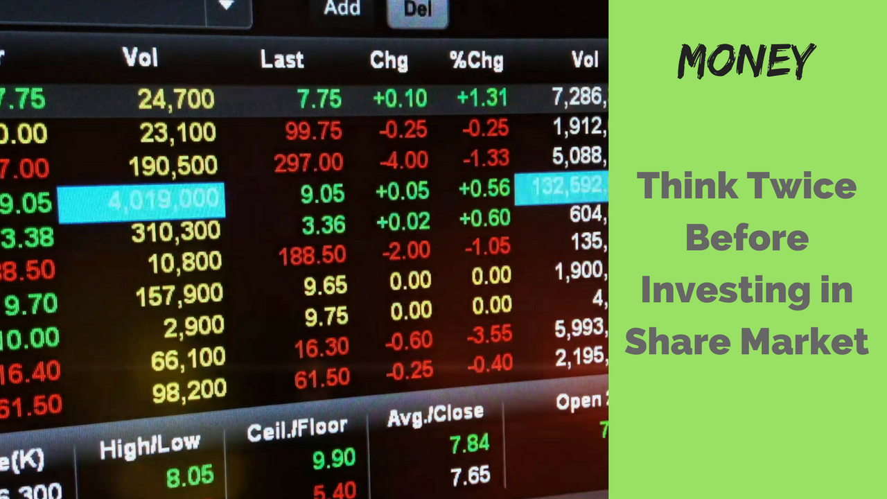 Share Market Investing Rules