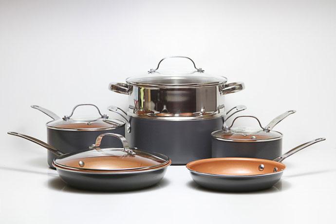 different types cookware for gas stove range. Black Bedroom Furniture Sets. Home Design Ideas