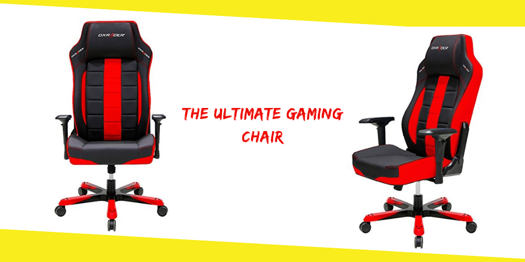 Astounding The Ultimate Gaming Chair And Why Its Good For Your Back Bralicious Painted Fabric Chair Ideas Braliciousco