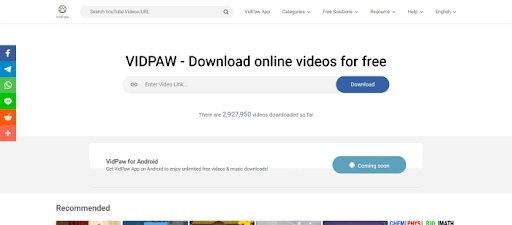 VidPaw Review: An Outstanding Online Video Downloader and